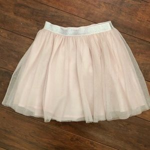 Baby Gap Shimmer Pink and Silver Skirt Size 5